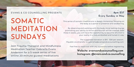Somatic Meditation Sundays ❤ tickets