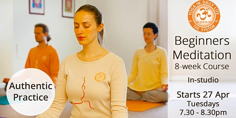 Beginners Meditation 8-week Course tickets