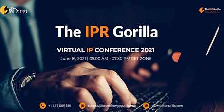 The IPR Gorilla Virtual IP Conference 10th Edition - June 16, 2021 tickets