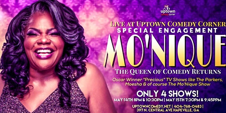 Queen of Comedy MO'NIQUE Live at Uptown Comedy Corner tickets
