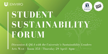 Student Sustainability Forum tickets