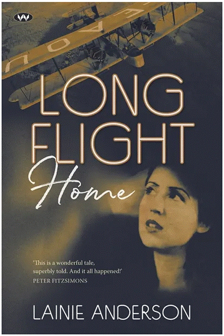 Author Talk: 'Long Flight Home' with Lainie Anderson image