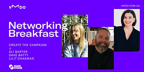 VMDO Networking Breakfasts - Create the Campaign tickets