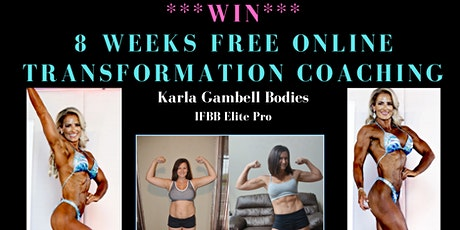 WIN 8 weeks FREE online Transformation coaching! tickets