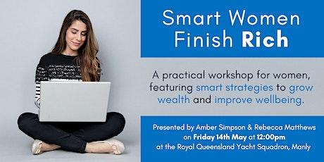 Smart Women Finish Rich - a Workshop tickets