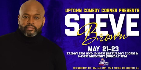 Comedian Steve Brown Live at Uptown tickets