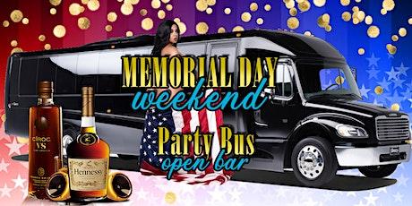 MDW #1 Party Bus in Las Vegas! FREE 1HR OPEN BAR tickets