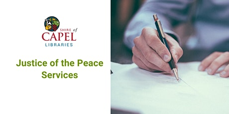 Justice of the Peace Services - Dalyellup tickets