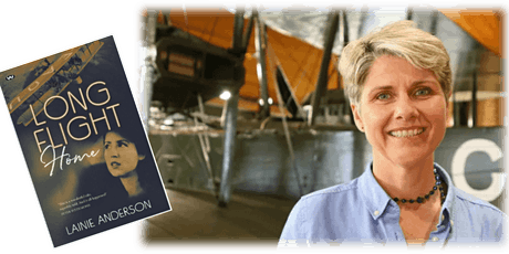 Author Talk: 'Long Flight Home' with Lainie Anderson tickets