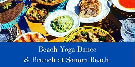 Beach yoga dance & seasonal brunch at Sonora Beach entradas