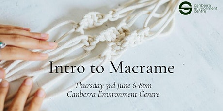 Intro to Macrame tickets