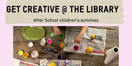 Get Creative @ the Library - Foster tickets