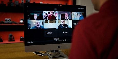 Online Talk im Store - Bilderfürst Manufaktur Professionell digitalisieren Tickets