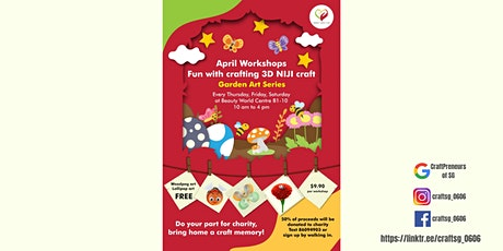 NIJI Craft making _ Open to all _ Apr 2021 tickets