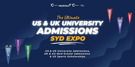 The Ultimate US & UK University Expo 2021 (SYDNEY) tickets