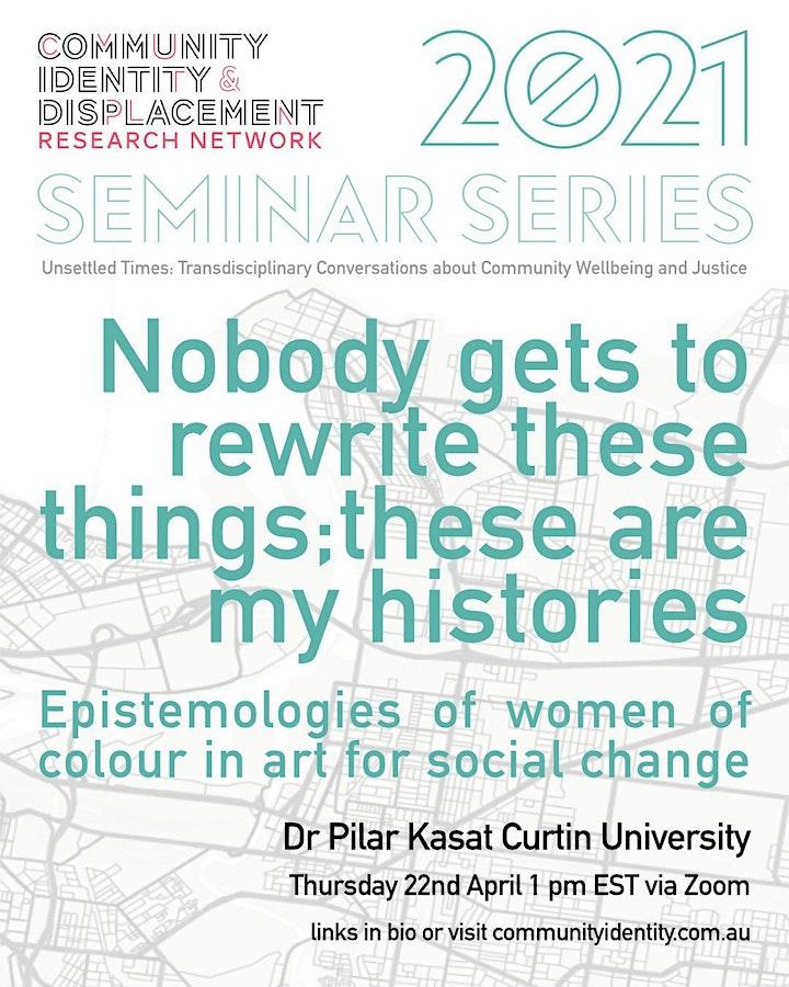Epistemologies of women of colour in art for social change image