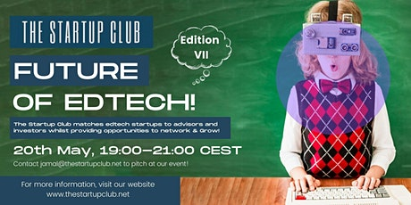 Future of EdTech VII - Online Pitch Night tickets