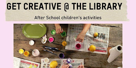 Get Creative @ the Library - Leongatha tickets