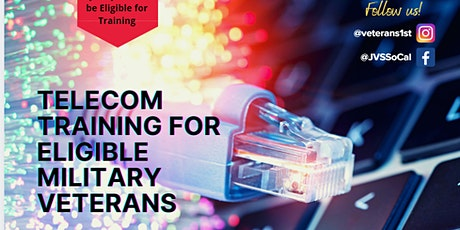 No-Cost TELECOM Training for Eligible US Veterans - Info. Session tickets