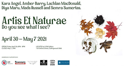 Artis et Naturae | Exhibition Launch tickets