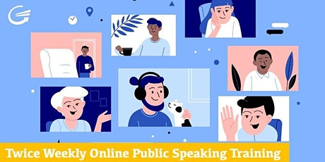 Public Speaking Anxiety Tactics: Discover Steps to Confident tickets