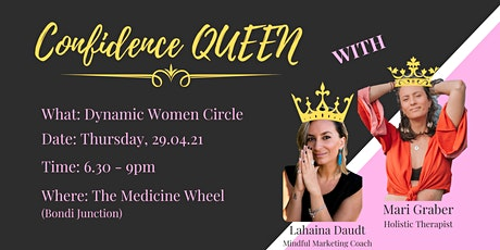 Confidence Queen - Dynamic Women's Circle tickets