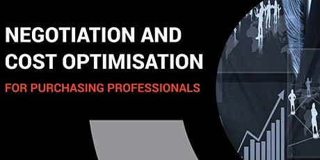 Negotiation Skills and Cost Optimization for Purchasing Professionals tickets