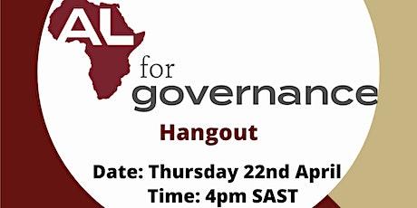 AL for Governance Network Hangout billets