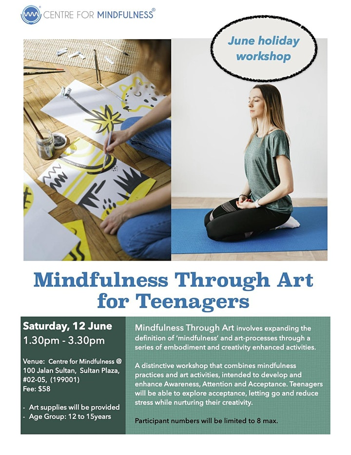 Mindfulness Through Art for Teens (June) image