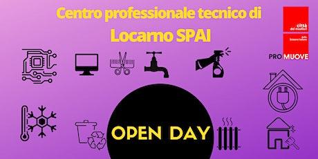 OPEN DAY-Centro professionale tecnico di Locarno SPAI biglietti