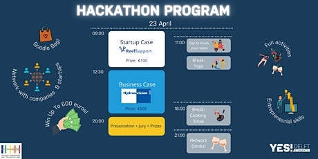 YES!Delft Students Hackathon: Can you solve the Business Case? tickets