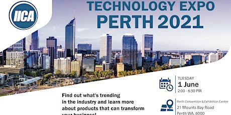 IICA Perth Technology Expo tickets