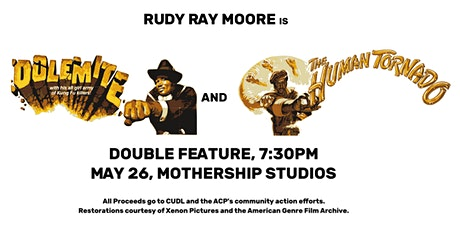 Dolemite + The Human Tornado @ Mothership Studios tickets