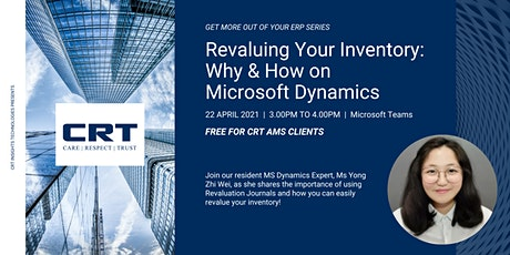 Revaluing Your Inventory: Why & How on  Microsoft Dynamics tickets