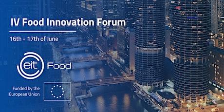 IV Food Innovation Forum tickets