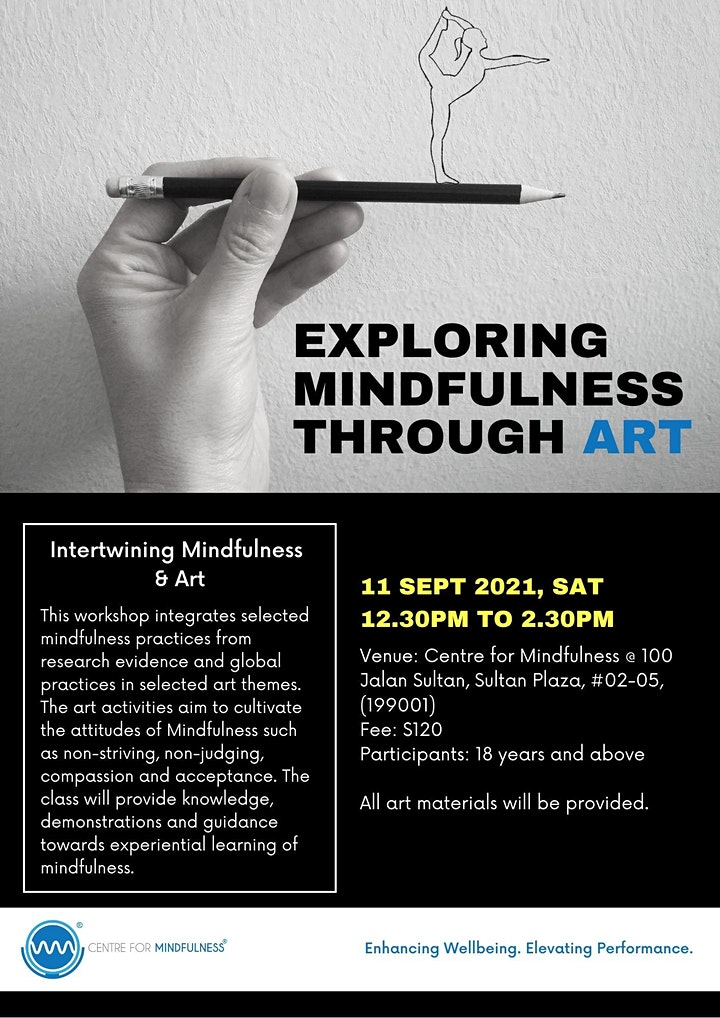 Exploring Mindfulness Through Art (Sept) image