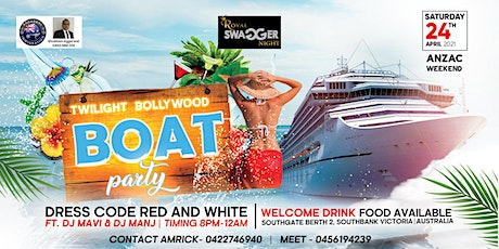 TWILIGHT BOLLYWOOD BOAT PARTY tickets