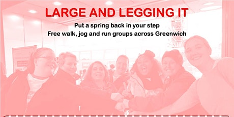 Large and Legging It -  Wednesday Evening Group @The Big Red Bus Club tickets