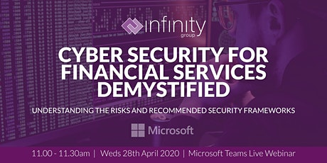 Cyber Security for Financial Services Demystified tickets