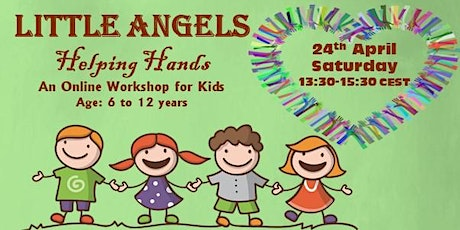 Helping Hands - a free online workshop for kids tickets