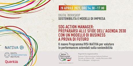 Digital Workshop IVSI: SOSTENIBILITA' E MODELLI D'IMPRESA biglietti
