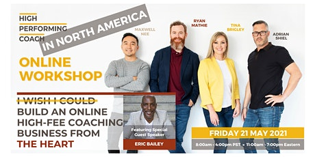 Build an ONLINE High-Fee Coaching Business from the HEART Online Workshop billets