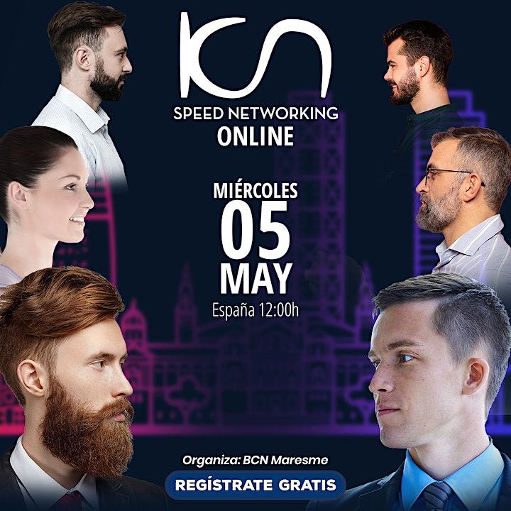 Imagen de KCN Maresme Speed Networking Online 5May