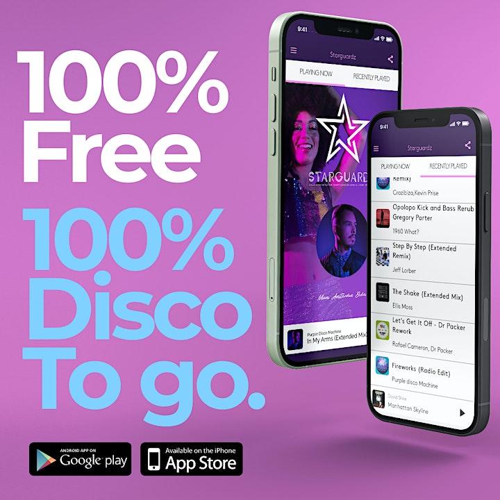 Afbeelding van Starguardz Disco Reinvented Party. The Kick off Party