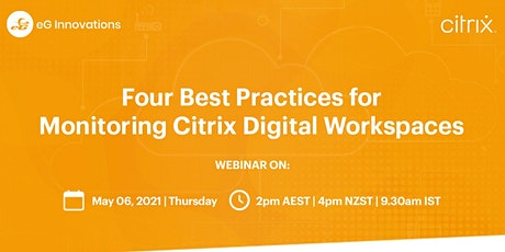 Four Best Practices for Monitoring Citrix Digital Workspaces tickets