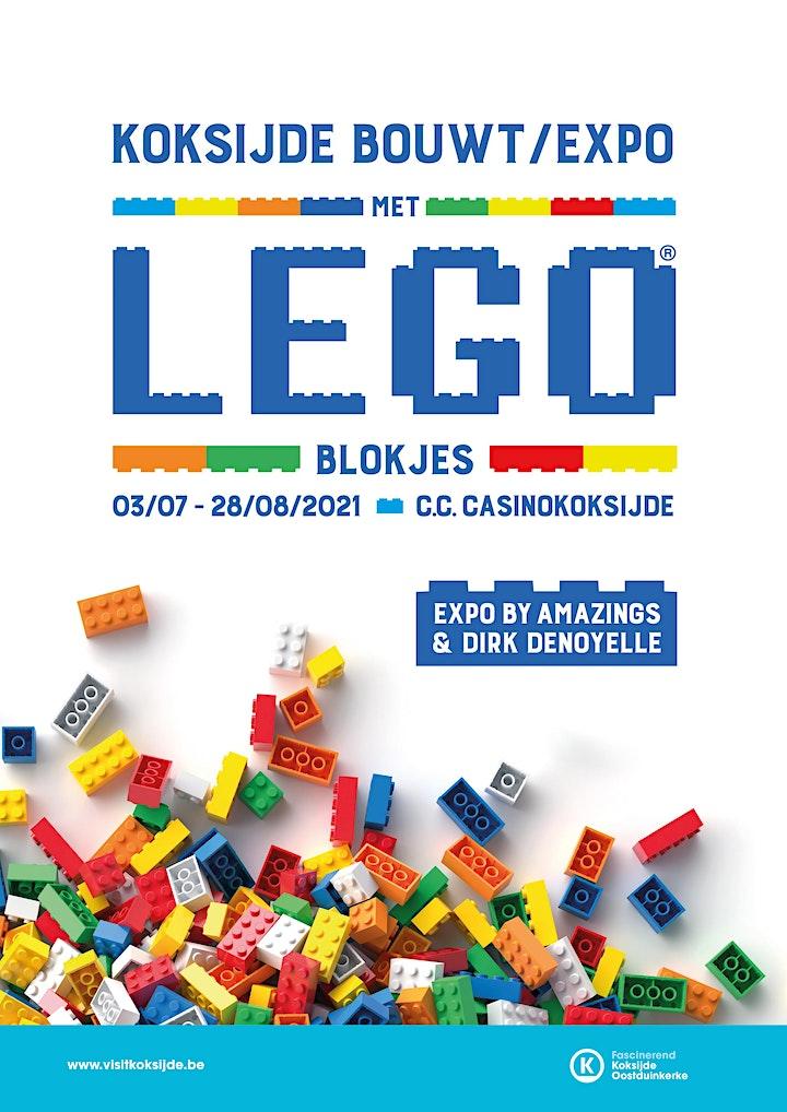 Afbeelding van Koksijde bouwt met LEGO® blokjes - augustus