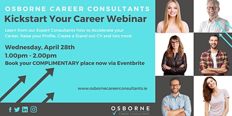 Kickstart Your Career in 2021 with Osborne Career Consultants tickets