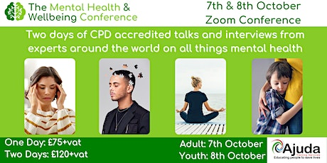 Mental Health & Wellbeing Conference Virtual 2021 tickets