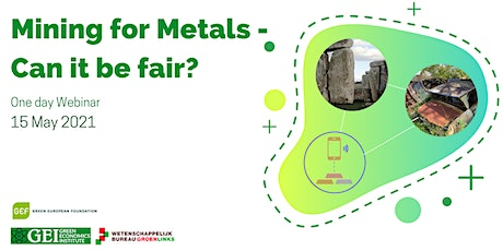 'Mining for metals - can it be fair?' tickets