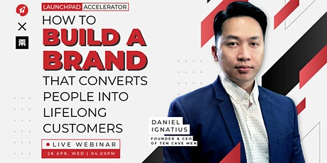 How to Build a Brand that Converts People into Lifelong Customers tickets